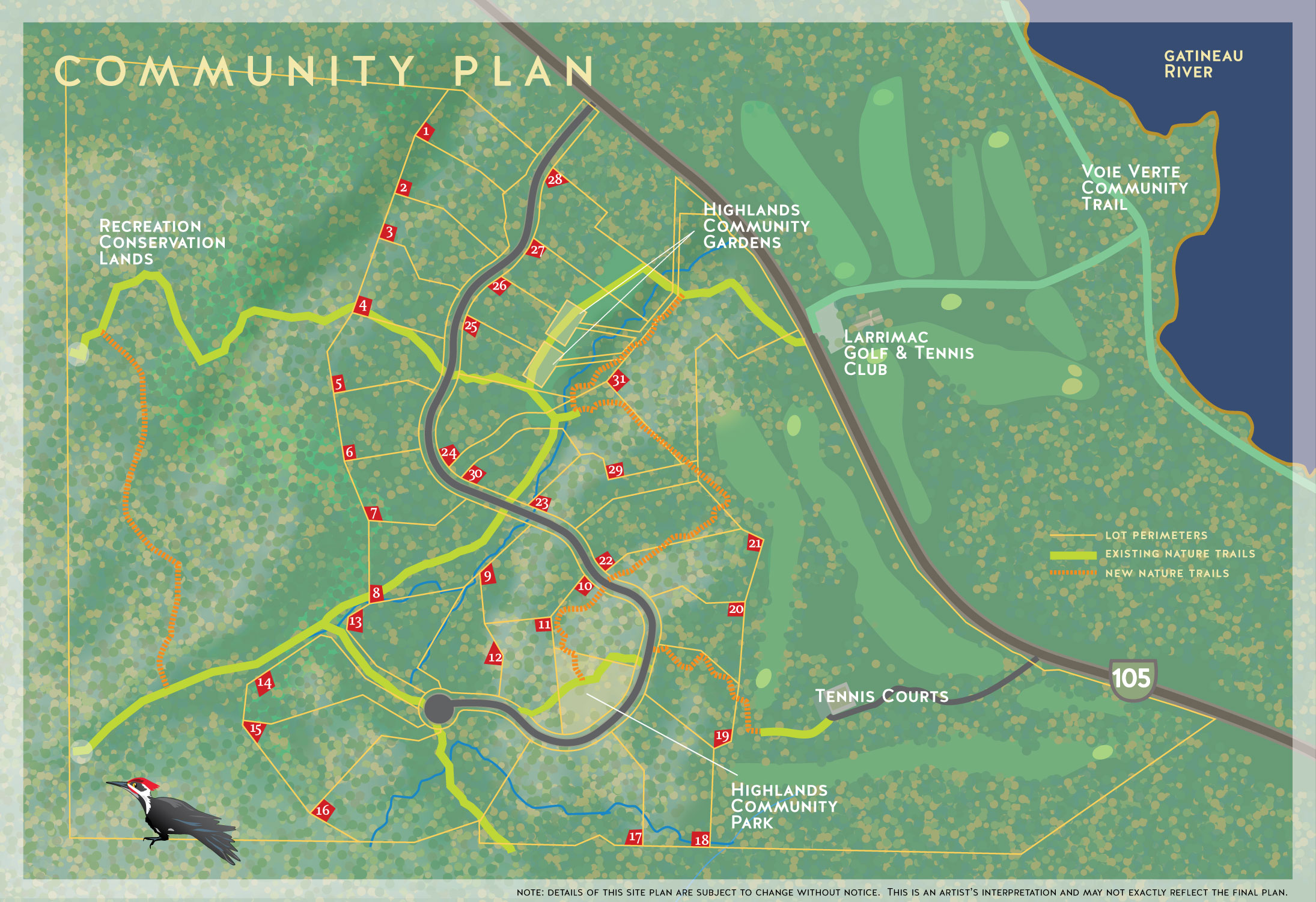 Community Plan Chelsea Highlands